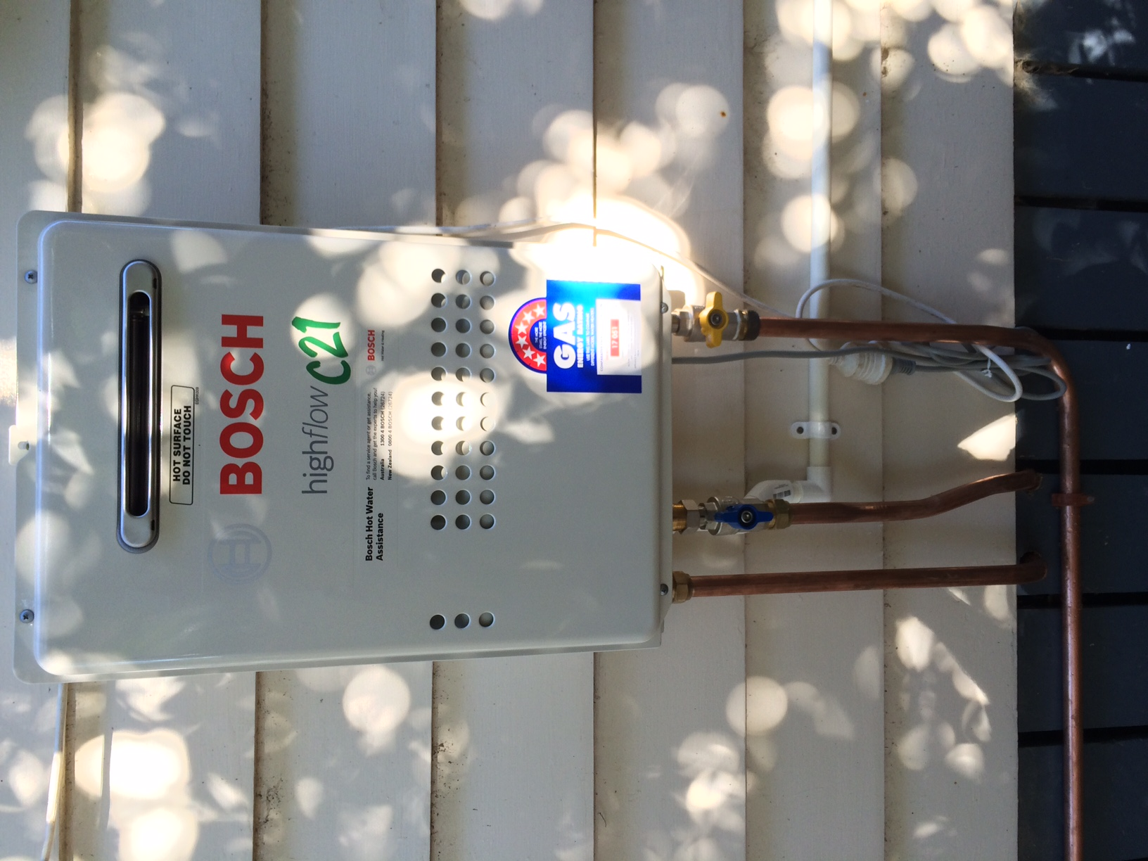 Condensing Technology With Bosch Highflow C21 Water