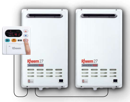 Rheem continuous supply water heaters