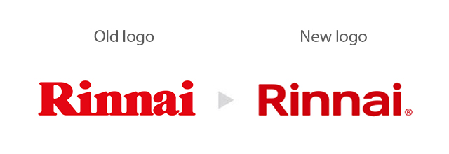 Rinnai Reveals New Logo for Global Rebrand