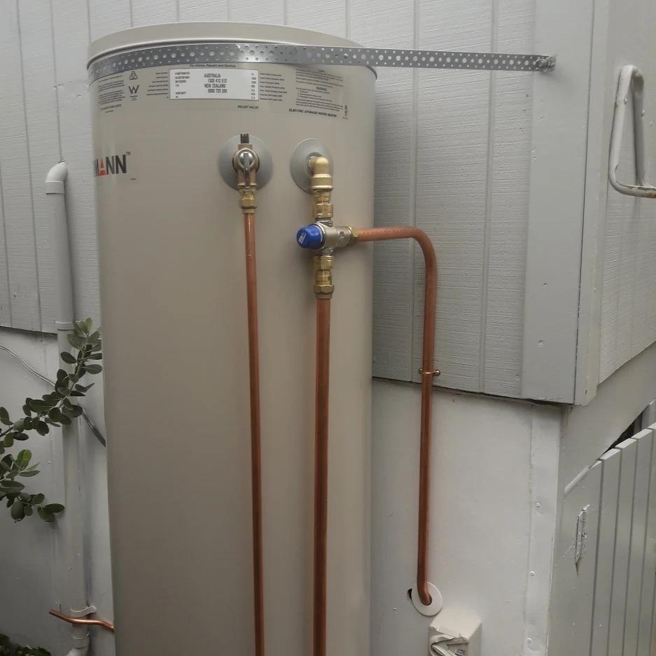 Birkenhead Hot Water Cylinder Installation